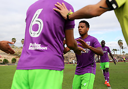 Korey Smith of Bristol City makes way for Gary O'Neil  - Mandatory by-line: Matt McNulty/JMP - 22/07/2017 - FOOTBALL - Tenerife Top Training - Costa Adeje, Tenerife - Bristol City v Atletico Union Guimar  - Pre-Season Friendly