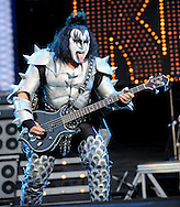 Download Festival  <br /> Gene Simmons  of Kiss<br /> Pix Dave Nelson