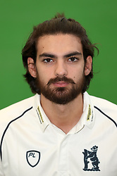 Andy Umeed during the media day at Edgbaston, Birmingham. PRESS ASSOCIATION Photo. Picture date: Thursday April 5, 2018. See PA story CRICKET Warwickshire