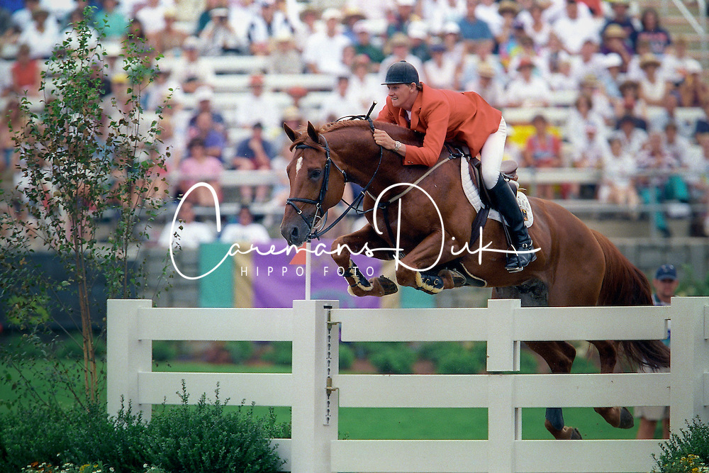 Kirchhoff Ulrich (GER) - Jus de pomme<br /> Olympic Games Atlanta 1996<br /> PHoto © Dirk Caremans