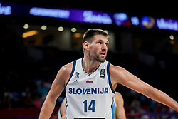 Gasper Vidmar of Slovenia during basketball match between National Teams of Germany and France at Day 10 in Round of 16 of the FIBA EuroBasket 2017 at Sinan Erdem Dome in Istanbul, Turkey on September 9, 2017. Photo by Vid Ponikvar / Sportida