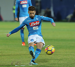 December 29, 2017 - Crotone, KR, Italy - DRIES MERTENS of SSC Napoli   during the serie A match between FC Crotone and SSC Napoli at Stadio Comunale Ezio Scida on December 29, 2017 in Crotone, Italy. (Credit Image: © Gabriele Maricchiolo/NurPhoto via ZUMA Press)