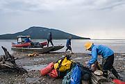Canada, Mountain River, Northwest Territories, canoe trip (near the Arctic Circle)