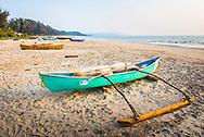 Fishing boat, Talpona Beach, South Goa, India