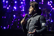"""WASHINGTON, DC - NOVEMBER 15th, 2015 - The Weekend performs at the Verizon Center in Washington, D.C. His most recent album, Beauty Behind the Madness, contains the #1 singles """"The Hills"""" and """"Can't Feel My Face"""". (photo by Kyle Gustafson / FTWP)"""