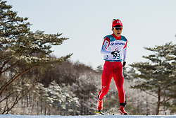March 17, 2018 - Pyeongchang, SOUTH KOREA - 180317 Taiki Kawayoke of Japan competes in the men's 10 km standing cross-country skiing during day eight of the 2018 Winter Paralympics on March 17, 2018 in Pyeongchang..Photo: Vegard Wivestad GrÂ¿tt / BILDBYRN / kod VG / 170134 (Credit Image: © Vegard Wivestad Gr¯Tt/Bildbyran via ZUMA Press)