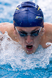 Jan Karel Petric of PK Triglav Kranj during 200m Butterfly  at 30th Swimming International meeting Ilirija 2010, on May 9, 2010, in Ilirija open pool, Ljubljana, Slovenia.  (Photo by Vid Ponikvar / Sportida)