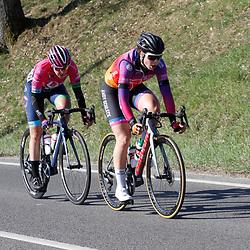 25-04-2021: Wielrennen: Luik Bastenaken Luik (Vrouwen): Luik: Claire Faber: Silvia Zanardi