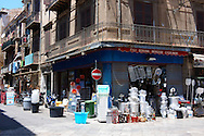 Via Calderai, street shops, Sicily .<br /> <br /> Visit our SICILY HISTORIC PLACES PHOTO COLLECTIONS for more   photos  to download or buy as prints https://funkystock.photoshelter.com/gallery-collection/2b-Pictures-Images-of-Sicily-Photos-of-Sicilian-Historic-Landmark-Sites/C0000qAkj8TXCzro