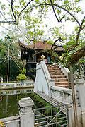 Chua Mot Cot, Buddhist Temple, Hanoi, Vietnam, Asia