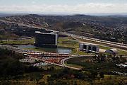 Belo Horizonte_MG, Brasil.<br /> <br /> Centro Administrativo do Governo de Minas Gerais (Cidade Administrativa), o centro foi projetado por Oscar Niemeyer, na foto o predio e a Linha Verde.<br /> <br /> The Minas Gerais Administrative Center (Administrative City), projected by Oscar Niemeyer, in this photo the building and the Linha Verde.<br /> <br /> Foto: JOAO MARCOS ROSA / NITRO
