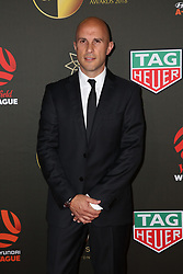 Players from the Westfield W-League and Hyundai A-League arrive on the red carpet for the 2018 Dolan Warren Awards at The Star Event Centre - 80 Pyrmont St, Pyrmont, NSW. 30 Apr 2018 Pictured: Mark Bresciano. Photo credit: Richard Milnes / MEGA TheMegaAgency.com +1 888 505 6342