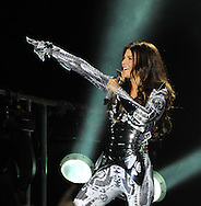 The Black Eyed Peas  Fergie, <br /> At there First Night Gig In Dublin <br /> Pix Dave nelson