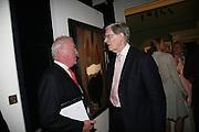 JAMES OSBORNE AND BILL CASH, Spear's Wealth Management High-Net-Worth Awards. Sotheby's. 10 July 2007.  -DO NOT ARCHIVE-© Copyright Photograph by Dafydd Jones. 248 Clapham Rd. London SW9 0PZ. Tel 0207 820 0771. www.dafjones.com.