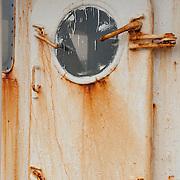 Fishing boat door