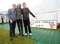 Scouting For Girls backstage..Saturday, T in the Park 2010..Pic ©2010 Michael Schofield. All Rights Reserved.
