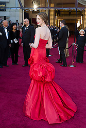Feb. 27, 2011 - Hollywood, California, U.S. - ANNE HATHAWAY arrives for the 83rd Annual Academy Awards at the Kodak Theatre. (Credit Image: