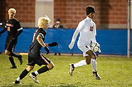 Center Moriches plays Schuyerville  in a New York State Public High School Athletic Association Class B boys' soccer semifinal game at  in Middletown, N.Y., on Nov.16, 2019.