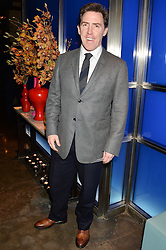 ROB BRYDON at a dinner hosted by Anya Hindmarch and Dylan Jones to celebrate the end London Collections: Men 2014 held at Hakkasan, 8 Hanway Place, London on 8th January 2014.