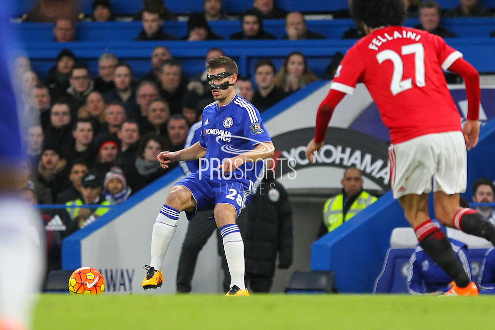 Chelsea's Cesar Azpilicueta during the Barclays Premier League match between Chelsea and Manchester United at Stamford Bridge, London, England on 7 February 2016. Photo by Phil Duncan.