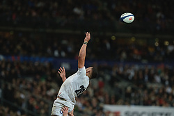 February 2, 2020, Saint Denis, Seine Saint Denis, France: The Wing of England Team LEWIS LUDLAM in action during the Guinness Six Nations Rugby tournament between France and  England at the Stade de France - St Denis - France.. France won 24-17 (Credit Image: © Pierre Stevenin/ZUMA Wire)