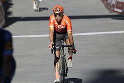 March 9, 2019 - Siena, Italy - Belgian Greg Van Avermaet of CCC Team finishes the Strade Bianche one day cycling race in Siena, Italy, Saturday 09 March 2019...BELGA PHOTO YUZURU SUNADA (Credit Image: © Yuzuru Sunada/Belga via ZUMA Press)