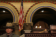 Atmosphere at the Swearing-in of the Honorable David A. Patterson at the 55th Governor of New York  at The New York State Capitol in the Assembly Chambers on March 17, 2008