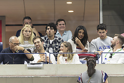 September 4, 2018 - New York, New York, United States - Sophie Turner, Joe Jonas, Priyanka Chopra, Nick Jonas attend US Open 2018 quarterfinal match between Rafael Nadal of Spain & Dominic Thiem of Austria at USTA Billie Jean King National Tennis Center (Credit Image: © Lev Radin/Pacific Press via ZUMA Wire)