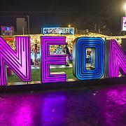 NLD/Bangkok/20180713 - Vakantie Thailand 2018, Neon market Bangkok