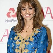 London, UK. 10th May 2017. Riz Latif attends The Asian Women of Achievement Awards 2017 at the London Hilton on Park Lane Hotel. Photo by See li Credit: See Li
