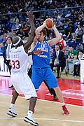 DESCRIZIONE : Pesaro Edison All Star Game 2012<br /> GIOCATORE : Nicolo Melli<br /> CATEGORIA : palleggio passaggio<br /> SQUADRA : Italia Nazionale Maschile<br /> EVENTO : All Star Game 2012<br /> GARA : Italia All Star Team<br /> DATA : 11/03/2012 <br /> SPORT : Pallacanestro<br /> AUTORE : Agenzia Ciamillo-Castoria/C.De Massis<br /> Galleria : FIP Nazionali 2012<br /> Fotonotizia : Pesaro Edison All Star Game 2012<br /> Predefinita :