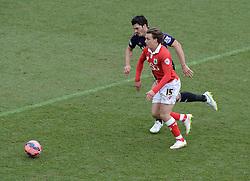 Bristol City's Luke Freeman attacks. - Photo mandatory by-line: Alex James/JMP - Mobile: 07966 386802 - 25/01/2015 - SPORT - Football - Bristol - Ashton Gate - Bristol City v West Ham United - FA Cup Fourth Round