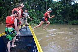 Melissa Jacobs Jumping Into The River, Tiputini