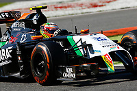 PEREZ Sergio (Mex) Force India Vjm07 Action  during the 2014 Formula One World Championship, Italy Grand Prix from September 5th to 7th 2014 in Monza, Italy. Photo Florent Gooden / DPPI
