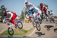 #40 (NAVRESTAD Tore) NOR  at Round 9 of the 2019 UCI BMX Supercross World Cup in Santiago del Estero, Argentina
