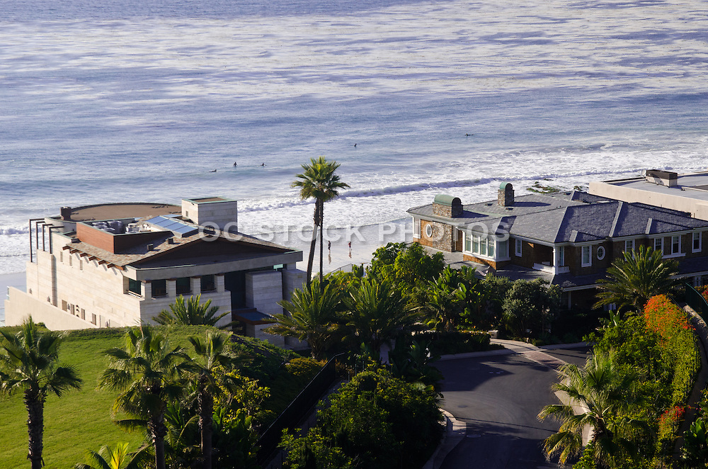 Custom Built Homes on Strand Beach in Dana Point