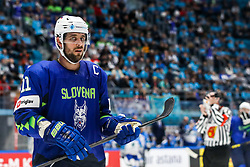 Anze Kopitar of Slovenia during ice hockey match between Slovenia and Kazakhstan at IIHF World Championship DIV. I Group A Kazakhstan 2019, on April 29, 2019 in Barys Arena, Nur-Sultan, Kazakhstan. Photo by Matic Klansek Velej / Sportida