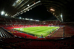 A general view of Old Trafford stadium - Mandatory by-line: Matt McNulty/JMP - 31/10/2017 - FOOTBALL - Old Trafford - Manchester, England - Manchester United v Benfica - UEFA Champions League Group A