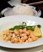 Fresh Atlantic Prawns from The wonderful Bricin Restaurant, Killarney.<br /> Picture by Don MacMonagle -macmonagle.com