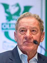 Milan Mandaric, president of NK Olimpija during press conference and practice session of NK Olimpija Ljubljana, on February 25, 2016 in Austria Trend Hotel, Ljubljana, Slovenia. Photo by Matic Klansek Velej / Sportida