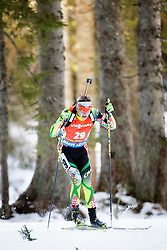 Raman Yaliotnau (BLR) competes during Men 12,5 km Pursuit at day 3 of IBU Biathlon World Cup 2015/16 Pokljuka, on December 19, 2015 in Rudno polje, Pokljuka, Slovenia. Photo by Ziga Zupan / Sportida