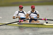 Munich, GERMANY, 2006,USA W2- No. 2 Bow Lindsey Shoop, Anna Goodale, FISA, Rowing, World Cup,  on the Olympic Regatta Course, Munich, Fri. 26.05.2006. © Peter Spurrier/Intersport-images.com,  / Mobile +44 [0] 7973 819 551 / email images@intersport-images.com.[Mandatory Credit, Peter Spurier/ Intersport Images] Rowing Course, Olympic Regatta Rowing Course, Munich, GERMANY