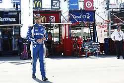 November 18, 2017 - Homestead, Florida, United States of America - November 18, 2017 - Homestead, Florida, USA: Ricky Stenhouse Jr (17) hangs out in the garage prior to practice for Ford EcoBoost 400 at Homestead-Miami Speedway in Homestead, Florida. (Credit Image: © Justin R. Noe Asp Inc/ASP via ZUMA Wire)