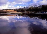 Lake near Tioga Pass - Sierra Nevada, California.