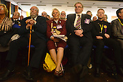 © Licensed to London News Pictures. 23/03/2013. Exeter, UK delegates. The UK Independence Party (UKIP) 2013 Spring Conference is held at the Great Hall, Exeter University today, Saturday 23rd March 2013. Support for the party is rising after success in the recent Eastleigh by-election, where UKIP came second behind the Liberal Democrats. Photo credit : Stephen Simpson/LNP
