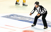 Arbitre - 25.01.2015 - Rouen / Amiens - Finale Coupe de France 2015 de Hockey sur glace<br /> Photo : Xavier Laine / Icon Sport