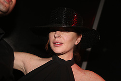 NO WEB NO APPS IN FRANCE UNTIL OCT. 12 - Exclusive - Lindsay Lohan attending Virgil Abloh and Black Coffee Party held at the Key Cub in Paris, France on September 27, 2018. Photo by Jerome Domine/ABACAPRESS.COM