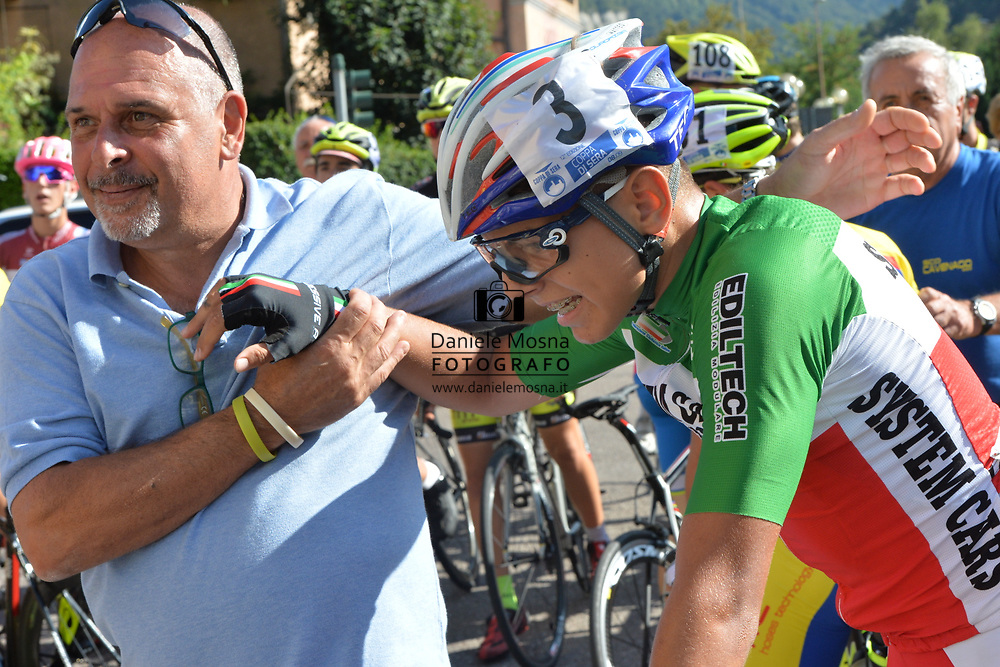 51° COPPA D'ORO - Sabato 8 settembre 2018 Coppa di sera - ESORDIENTI UOMINI I° ANNO – Km 28.7 - 08.9.2018.<br /> Borgo Valsugana, Trentino, Italia.<br /> © DANIELEMOSNA.IT