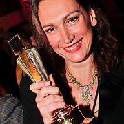 NLD/Amsterdam/20110124 - Uitreiking Beeld en Geluid awards 2010, Monic Hendrickx