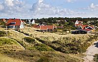 VLIELAND - Vakantiehuisjes in de duinen op Vlieland. ANP COPYRIGHT KOEN SUYK